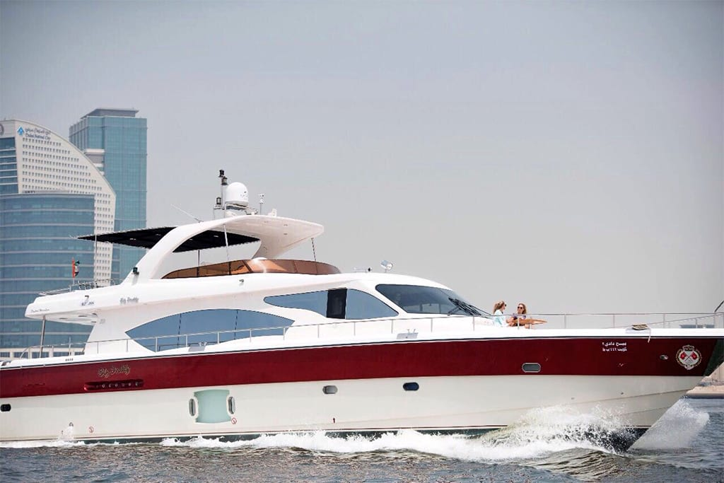 88 fit-Neptune Yacht