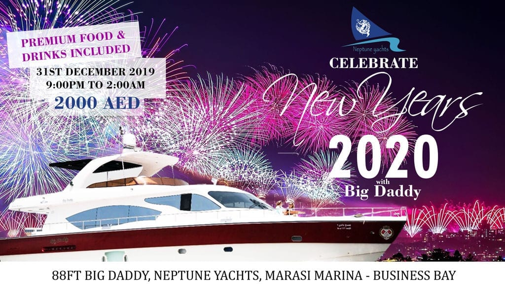 New year eve 2020 Yacht Event