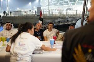 grand prix f1 abu dhabi 2019 on the yacht event